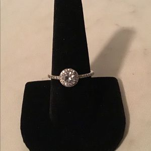 Pandora CZ engagement ring
